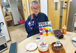 安岡先生の誕生日〜‼︎・・・と?